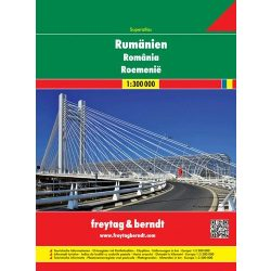 Románia atlasz Freytag 1:300 000