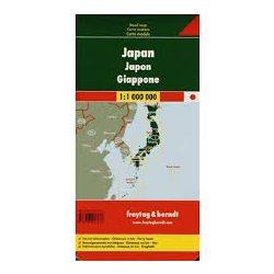 Japán térkép  1:1 000 000  Freytag térkép AK 197