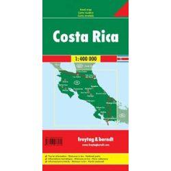 Costa Rica térkép, 1:400 000  Freytag térkép AK 181