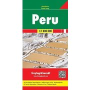 Peru térkép 1:1 200 000  Freytag