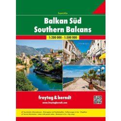 Balkán atlasz, Balkán-Délkelet-Európa Superatlasz Freytag 2018 Balkán térkép