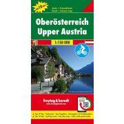 Felső-Ausztria térkép  Freytag Top 10 tipp térkép  1:150 000 OE 22