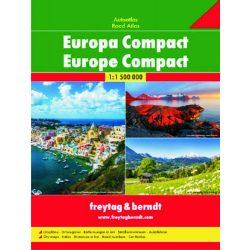 Európa atlasz Freytag & Berndt kompakt  1:1 500 000