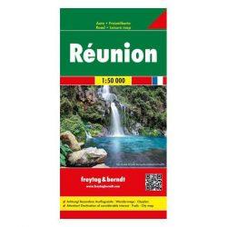 Réunion térkép, Rodrigez, 1:50 000  Freytag térkép 2018