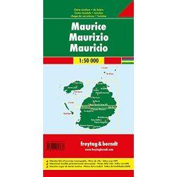 Mauritius térkép Freytag 1:50 000  2017
