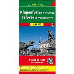 Klagenfurt térkép Freytag & Berndt 1:17 500 + Wörthi tó térkép