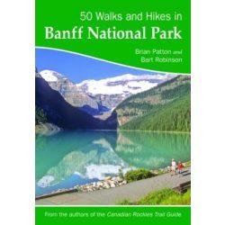 Banff National Park túrakalauz Bergverlag Rother angol   RO 2301