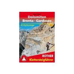 Dolomiten I Brenta I Gardasee túrakalauz Bergverlag Rother német   RO 3096