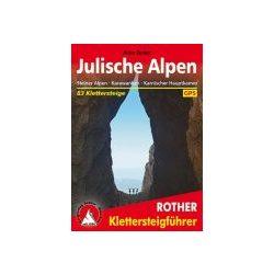 Julische Alpen túrakalauz Bergverlag Rother német   RO 3372