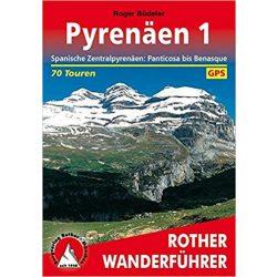 Pyrenäen 1 – Panticosa bis Benasque túrakalauz Bergverlag Rother német   RO 4003
