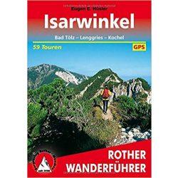 Isarwinkel túrakalauz Bergverlag Rother német   RO 4006