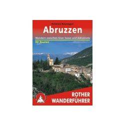 Abruzzen túrakalauz Bergverlag Rother német   RO 4013
