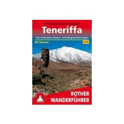 Teneriffa túrakalauz Bergverlag Rother német   RO 4016