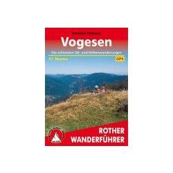 Vogesen túrakalauz Bergverlag Rother német   RO 4018