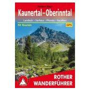 Kaunertal I Oberinntal túrakalauz Bergverlag Rother német   RO 4027