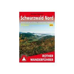 Schwarzwald Nord túrakalauz Bergverlag Rother német   RO 4031