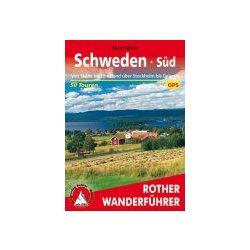 Schweden Süd túrakalauz Bergverlag Rother német   RO 4056