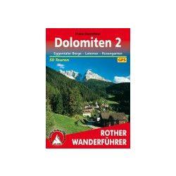 Dolomiten 2 – Eggentaler Berge I Latemar I Rosengarten túrakalauz Bergverlag Rother német   RO 4059