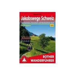 Schweiz  túrakalauz Bergverlag Rother német   RO 4068