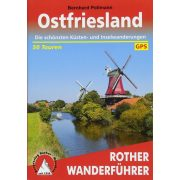 Ostfriesland túrakalauz Bergverlag Rother német   RO 4071
