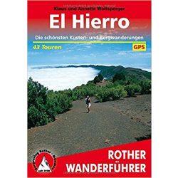 El Hierro túrakalauz Bergverlag Rother német   RO 4072
