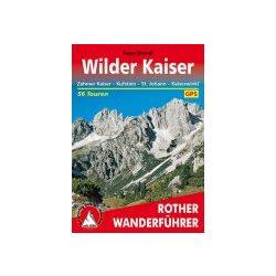 Wilder Kaiser túrakalauz Bergverlag Rother német   RO 4084