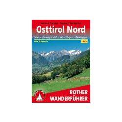 Osttirol Nord – Matrei I Kals I Virgen I Defereggen túrakalauz Bergverlag Rother német   RO 4099
