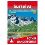 Surselva túrakalauz Bergverlag Rother német   RO 4111