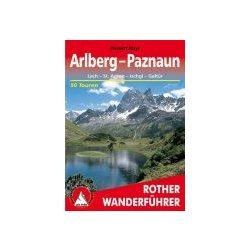 Arlberg I Paznaun túrakalauz Bergverlag Rother német   RO 4121