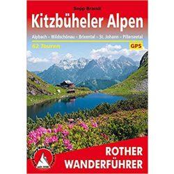 Kitzbüheler Alpen túrakalauz Bergverlag Rother német   RO 4134