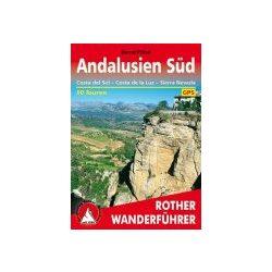 Andalusien Süd – Costa del Sol I Costa de la Luz I Sierra Nevada túrakalauz Bergverlag Rother német   RO 4147