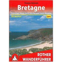 Bretagne túrakalauz Bergverlag Rother német   RO 4153