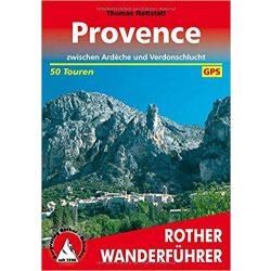 Provence túrakalauz Bergverlag Rother német   RO 4155