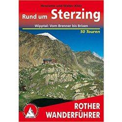 Sterzing – Wipptal I Brenner bis Brixen túrakalauz Bergverlag Rother német   RO 4167
