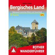 Bergisches Land túrakalauz Bergverlag Rother német   RO 4180