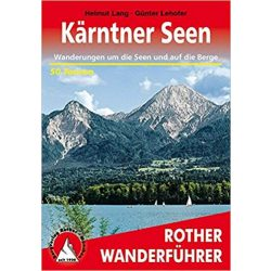 Kärntner Seen  túrakalauz Bergverlag Rother német   RO 4187