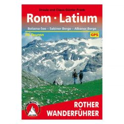 Rom I Latium túrakalauz Bergverlag Rother német   RO 4244