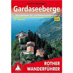 Gardaseeberge túrakalauz Bergverlag Rother német   RO 4256