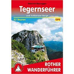 Tegernseer und Schlierseer Berge túrakalauz Bergverlag Rother német   RO 4258