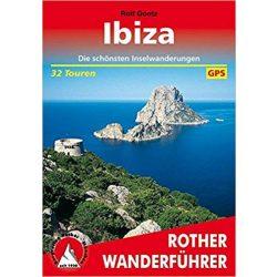 Ibiza túrakalauz Bergverlag Rother német   RO 4260