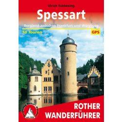 Spessart – Bergland zwischen Kinzing, Sinn und Main túrakalauz Bergverlag Rother német   RO 4269