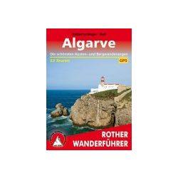 Algarve túrakalauz Bergverlag Rother német   RO 4276