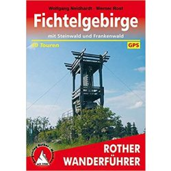 Fichtelgebirge – Mit Steinwald und Frankenwald  túrakalauz Bergverlag Rother német   RO 4279