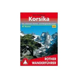 Korsika túrakalauz Bergverlag Rother német   RO 4280
