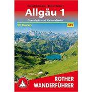 Allgäu 1 – Oberallgäu I Kleinwalsertal túrakalauz Bergverlag Rother német   RO 4289
