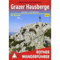 Grazer Hausberge túrakalauz Bergverlag Rother német   RO 4292