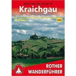 Kraichgau túrakalauz Bergverlag Rother német   RO 4300