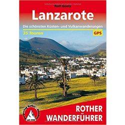 Lanzarote túrakalauz Bergverlag Rother német   RO 4302