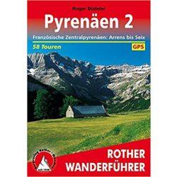 Pyrenäen 2 – Französische Zentralpyrenäen: Arrens bis Seix túrakalauz Bergverlag Rother német   RO 4308