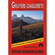 Gruyère I Diablerets túrakalauz Bergverlag Rother német   RO 4310